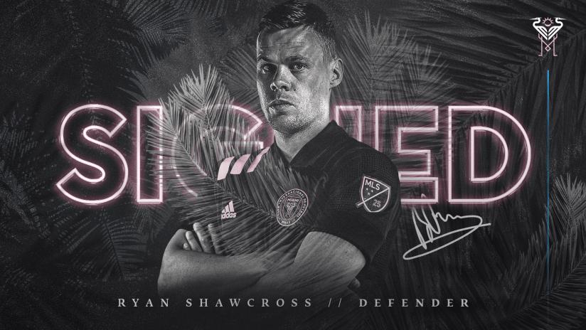 Inter Miami CF Signs Defender Ryan Shawcross