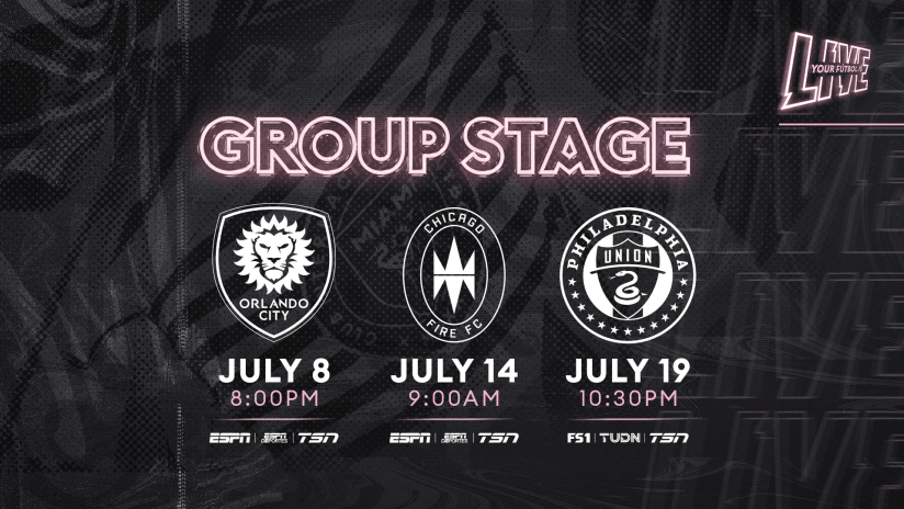 MLS is Back Group Stage Graphic