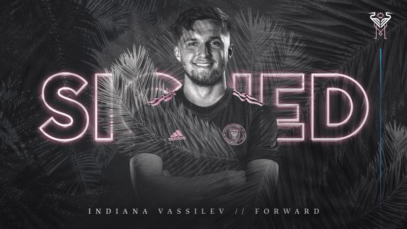 Inter Miami CF Signs U.S. Youth International Indiana Vassilev on Loan