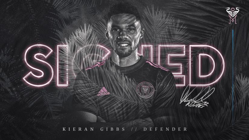 Kieran Gibbs Signed Graphic