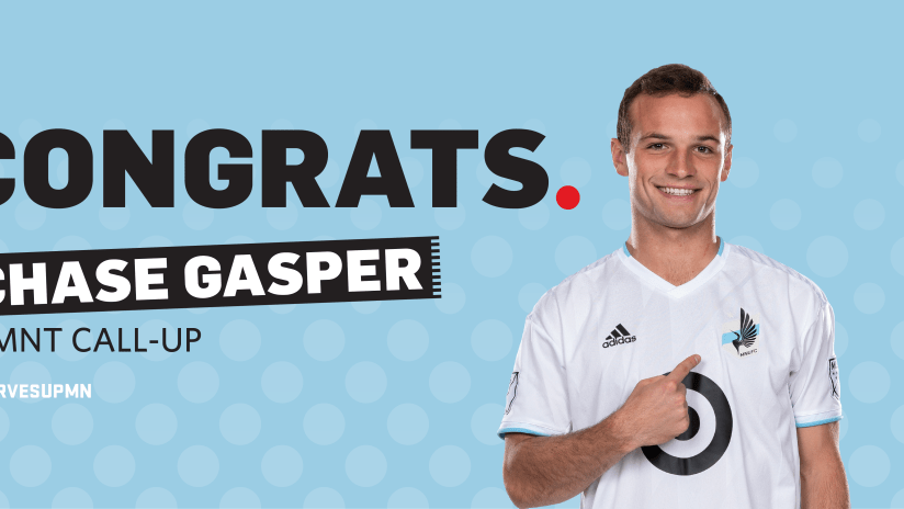chase gasper call up