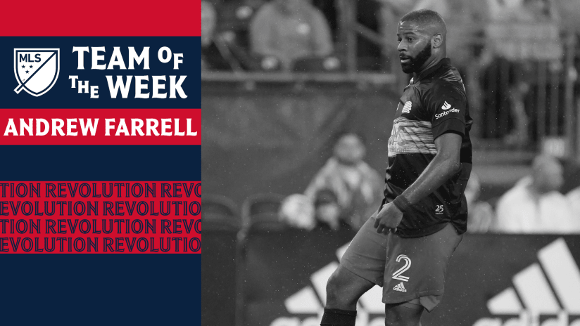Andrew Farrell Team of the Week