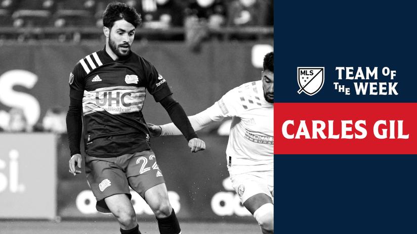 MLS Team of the Week 2021 | Carles Gil
