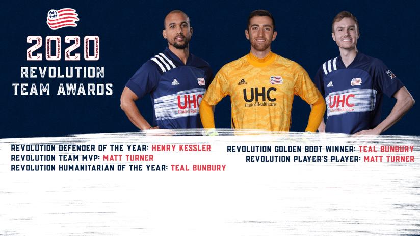 2020 revolution team awards
