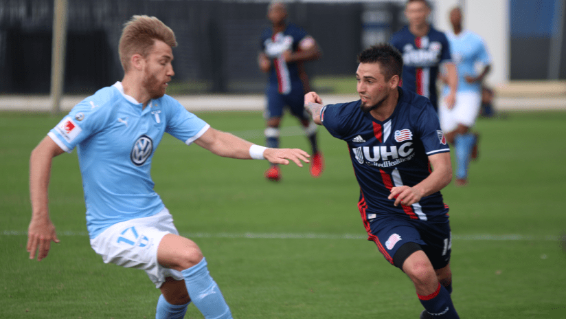 Diego Fagundez vs. Malmo FF preseason 2018