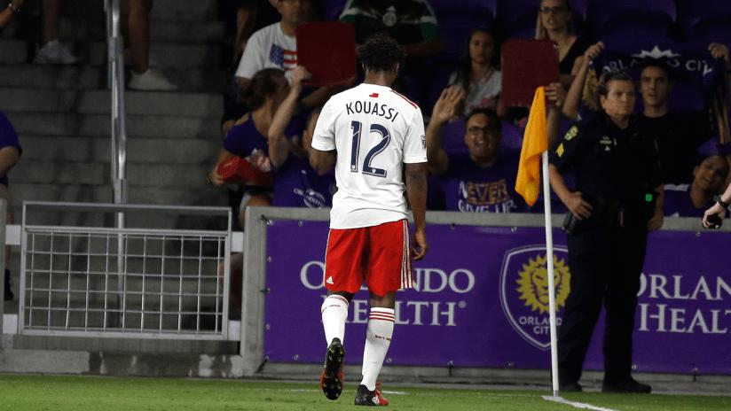 Xavier Kouassi sent off vs. Orlando City SC