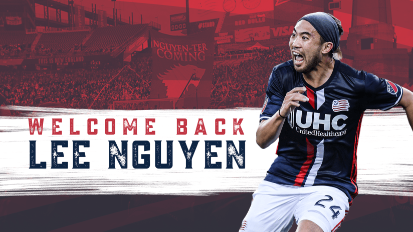 Welcome Back Lee Nguyen  - Announcement DL