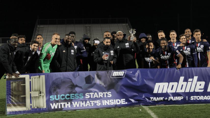 Mobile Mini Sun Cup preseason champions 2018