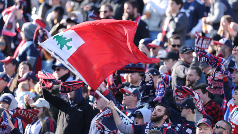 The Fort fans supporters flag 2019