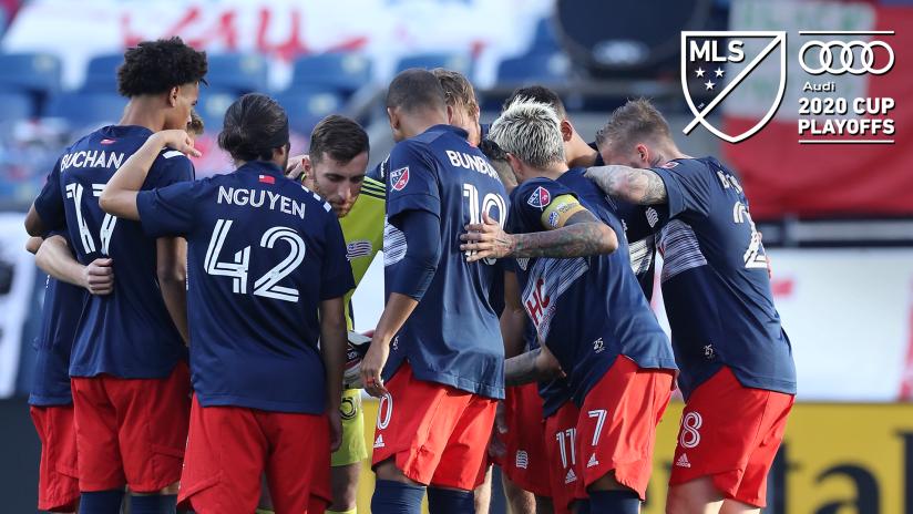 Team huddle MLS Cup Playoffs logo (2020, Original)