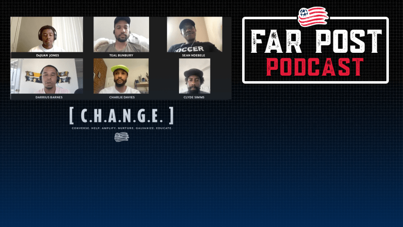 Far Post Podcast | Roundtable on racial injustice - DL