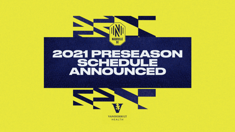 2021 Preseason Schedule announced