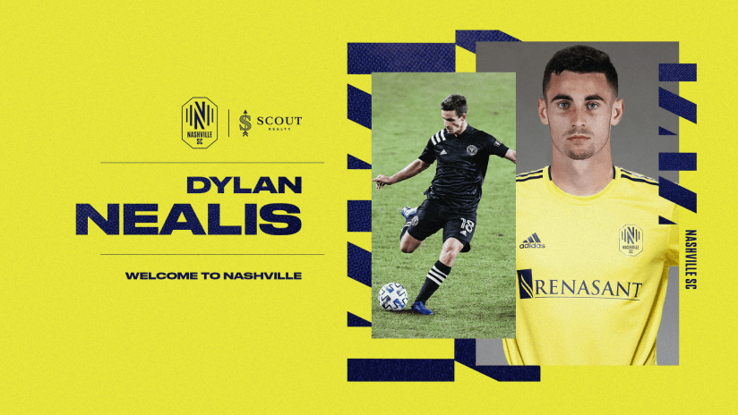 Nashville Soccer Club Acquires Defender Dylan Nealis from Inter Miami CF