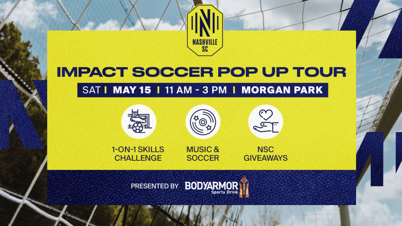 Nashville Soccer Club's IMPACT Soccer Program Returns in 2021