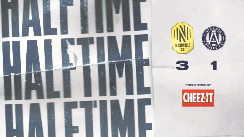 Halftime NSH 3 - 1 ATL