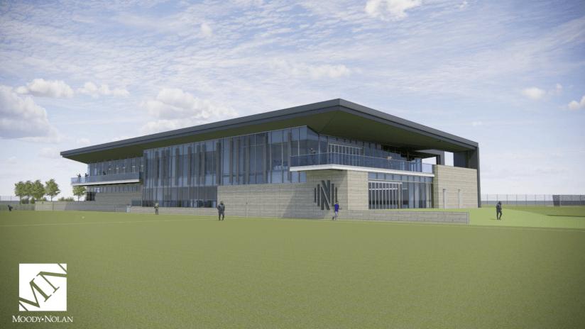 Exterior Views Nashville SC Training Facility2