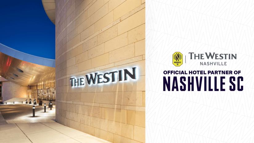 The Westin Nashville | Official Hotel Partner of Nashville SC