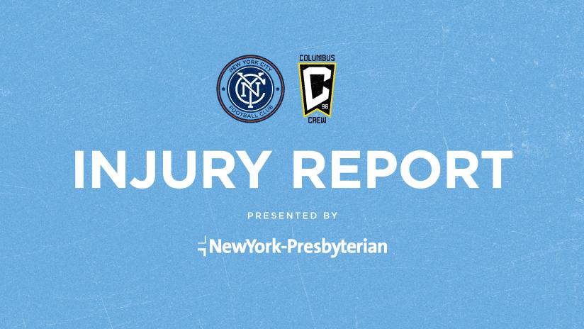 Injury Report Columbus