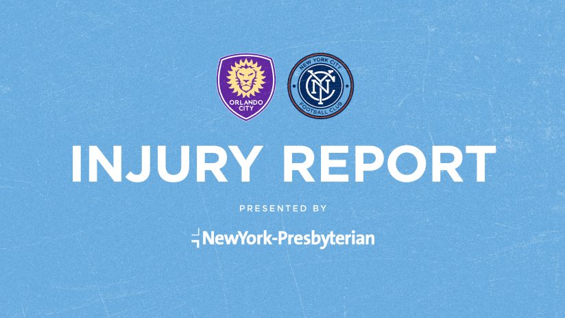 Injury Report Orlando