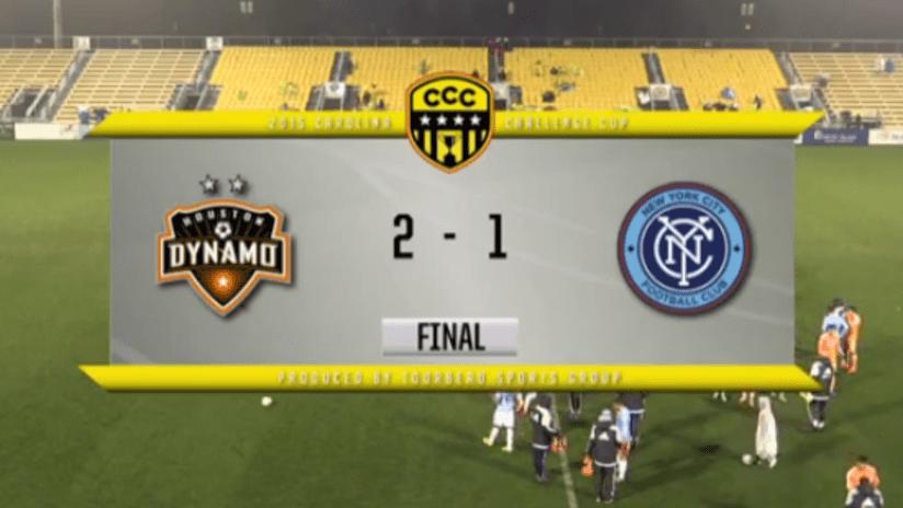 NYCFC vs. Dynamo final