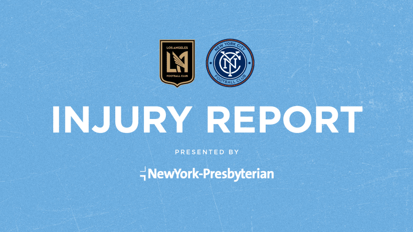 Injury Report LAFC
