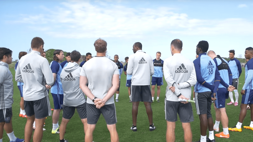 Patrick Vieira Training video photo
