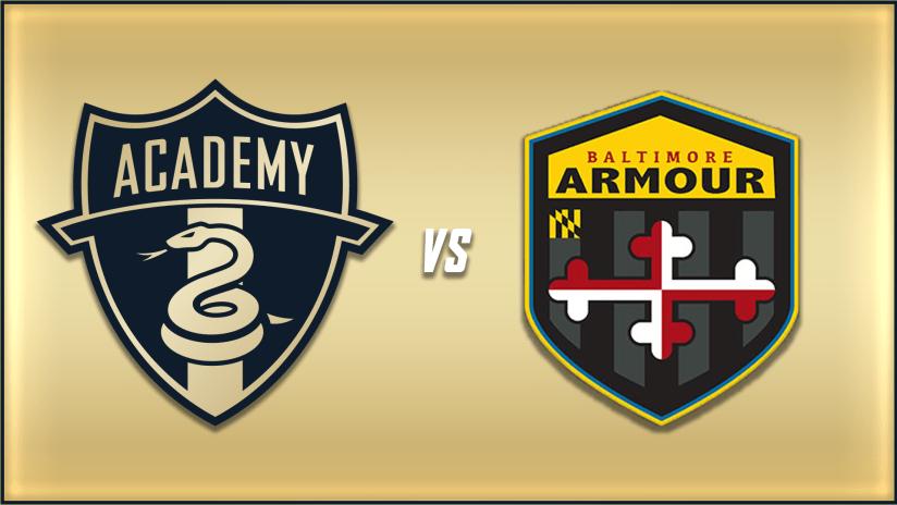 STREAM | Union Academy faces Baltimore Armour