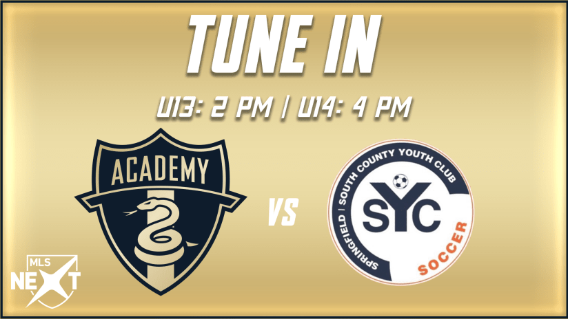 STREAM | Academy travels to face SYC Soccer on Saturday