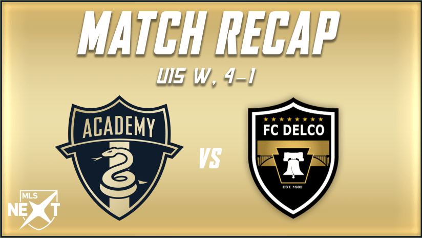 Academy | U15s put on strong performance in win over FC Delco