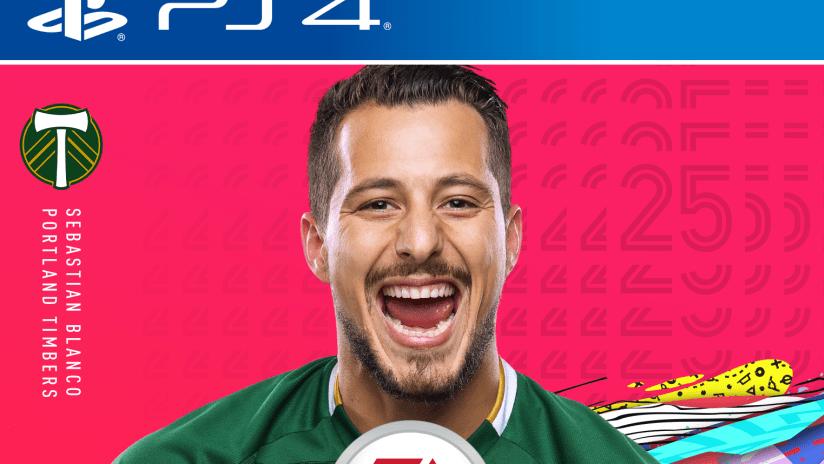 Sebastian Blanco, FIFA 20 cover, 3.20.20