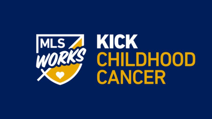 Kick Childhood Cancer Logo