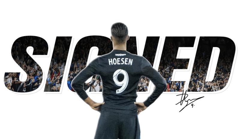 Danny Hoesen - Signed - 2017