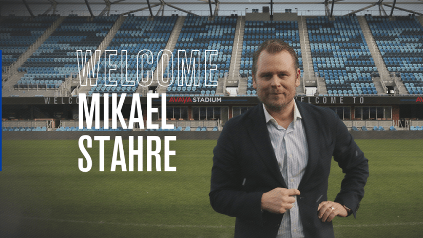Welcome Mikael Stahre