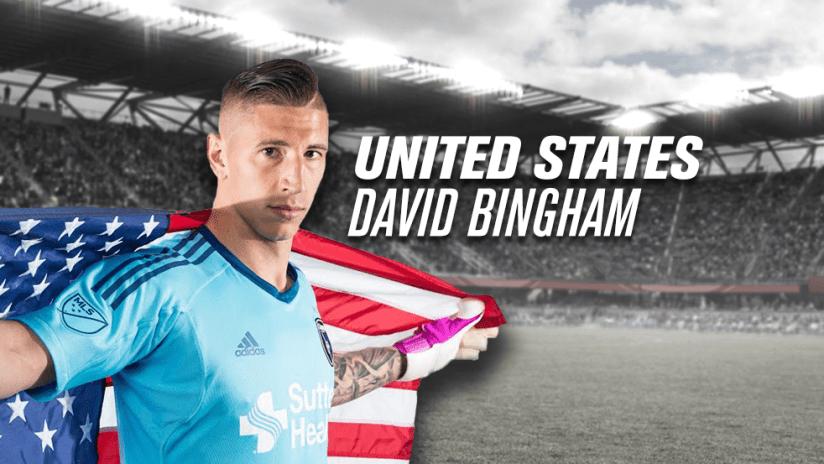 David Bingham - USA World Cup Qualifier - 2017