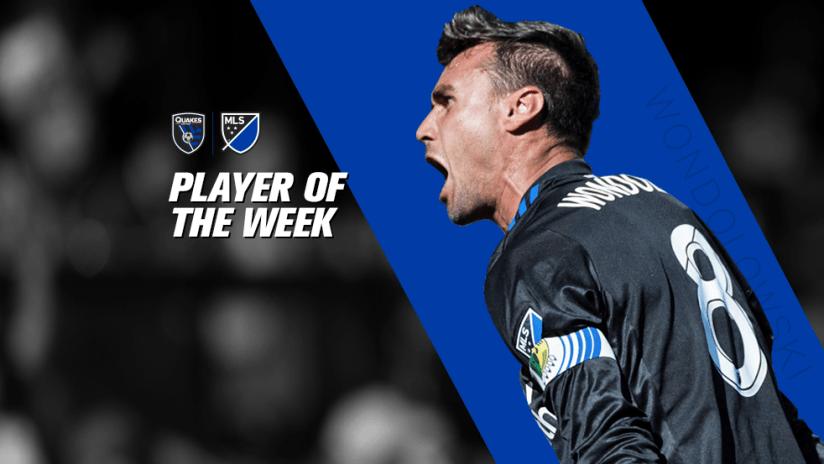 Player of the Week - Chris Wondolowski - 2017