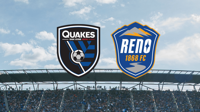 Reno 1868 - San Jose Earthquakes USL Affiliate