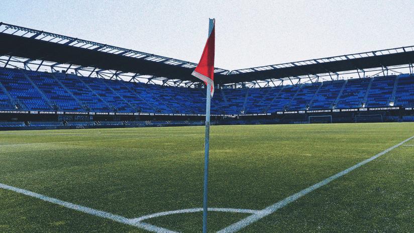 Earthquakes Stadium - 2020 - Corner Flag