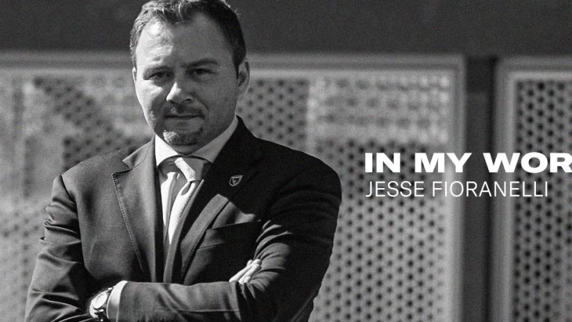 Jesse Fioranelli - In my Words
