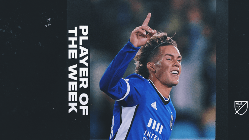 Player of the Week - Cade Cowell - San Jose Earthquakes - 2021
