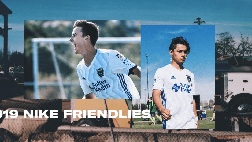 2019 - Nike Friendlies - Gilbert Fuentes - Casey Walls