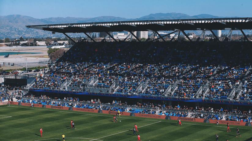 Earthquakes Stadium - 2020 - Home Opener