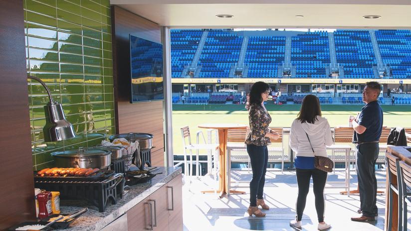 On Field Luxury Suites 2021