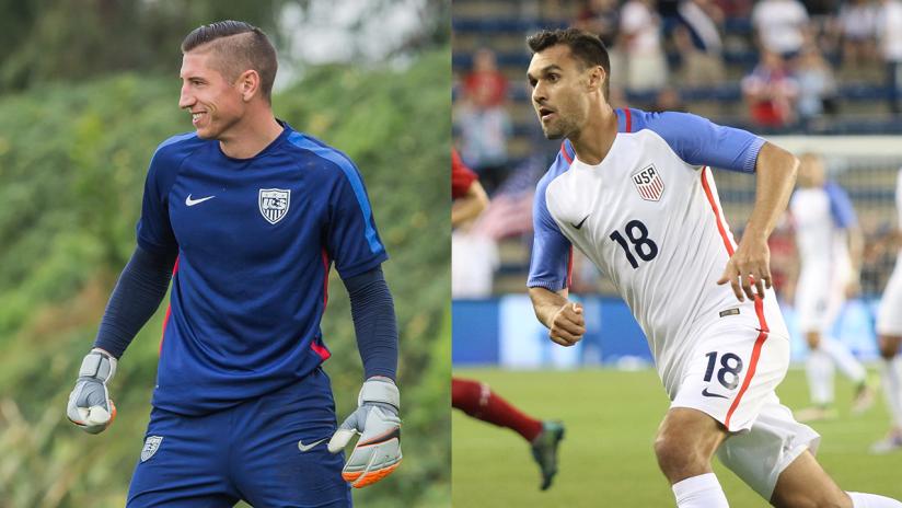 David Bingham - Chris Wondolowski - USA Soccer2 - 2016