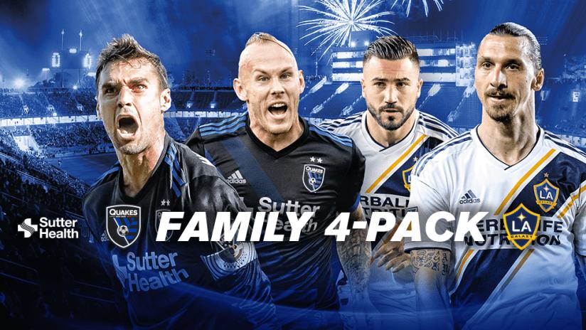 Family 4 Pack - 2018