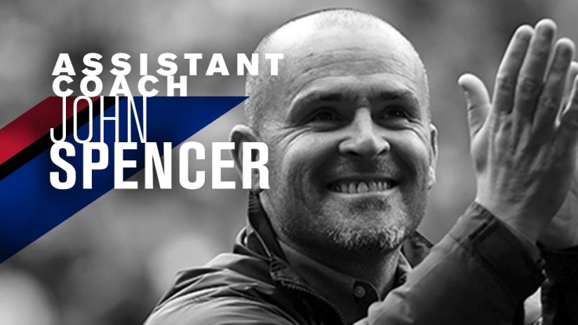 John Spencer - Assistant Coach - San Jose Earthquakes