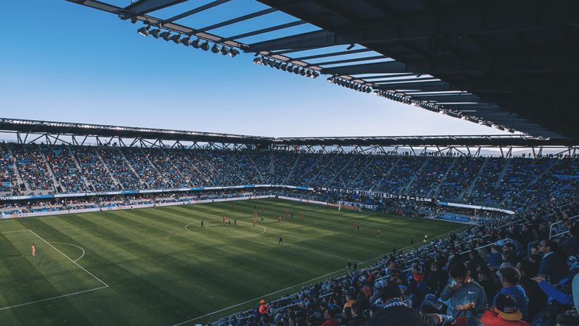 earthquakes stadium 2020