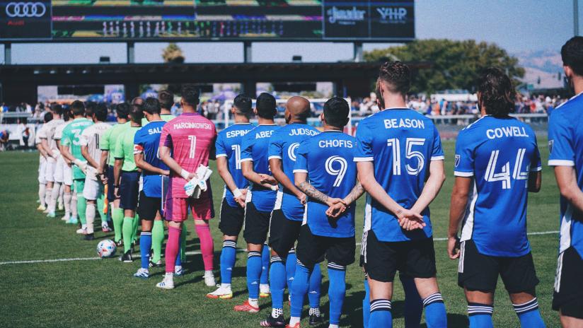 National Anthem team photo 2021