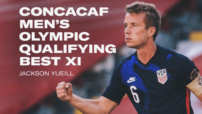 Jackson Yueill - Concacaf Best XI