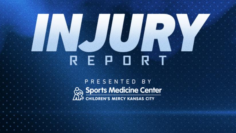 Injury Report presented by Children's Mercy Sports Medicine Center - July 9, 2020