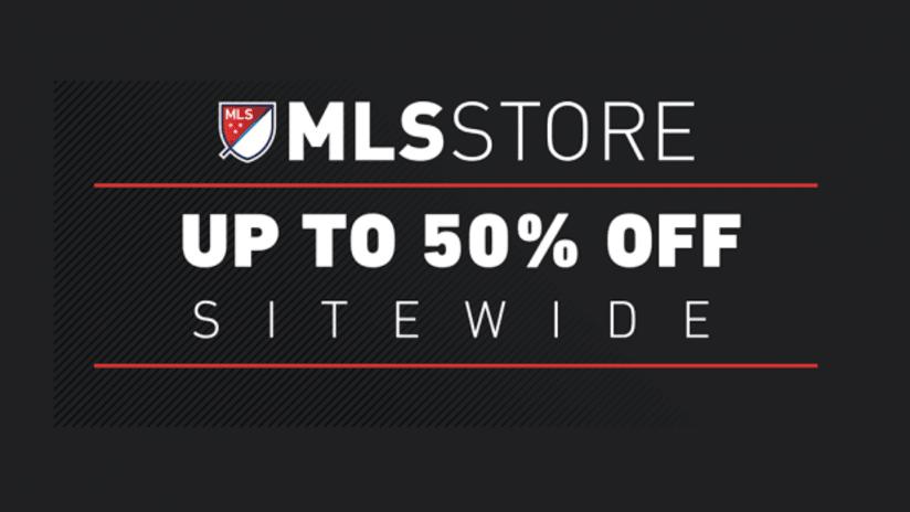 MLSstore.com 50% off weekend - DL image